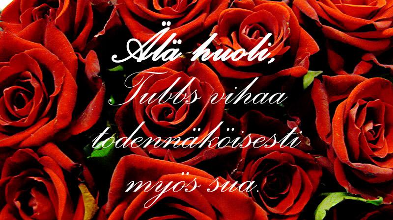 ruusut tubbsiin