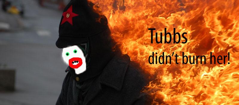 tubbs didnt burn her2 copy